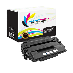 HP 55X CE255X Premium Replacement Black High Yield Toner Cartridge by Smart Print Supplies