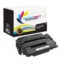 HP 55X CE255X Replacement Black High Yield MICR Toner Cartridge by Smart Print Supplies