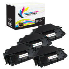 4 Pack HP 61X C8061X Replacement Black High Yield MICR Toner Cartridge by Smart Print Supplies