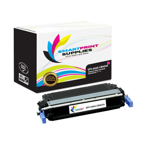 1 Pack HP 642A Magenta Toner Cartridge Replacement By Smart Print Supplies