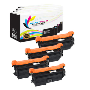 4 Pack HP 649X Replacement (CMYK) Toner Cartridge by Smart Print Supplies