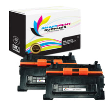 2 Pack HP 64A CC364A Premium Replacement Black Toner Cartridge by Smart Print Supplies