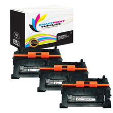 3 Pack HP 64A CC364A Premium Replacement Black Toner Cartridge by Smart Print Supplies