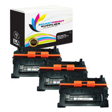 3 Pack HP 64X CC364X Premium Replacement Black Toner Cartridge by Smart Print Supplies