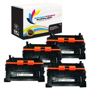4 Pack HP 64X CC364X Replacement Black High Yield MICR Toner Cartridge by Smart Print Supplies