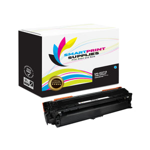 HP 650A CE271A Replacement Cyan Toner Cartridge by Smart Print Supplies