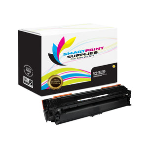 HP 650A CE272A Replacement Yellow Toner Cartridge by Smart Print Supplies
