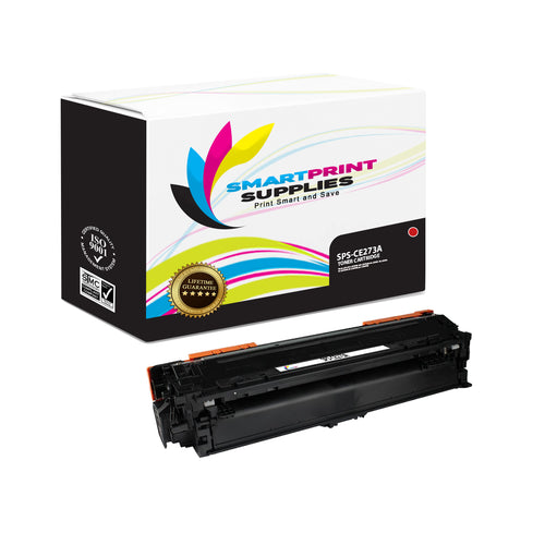HP 650A CE273A Replacement Magenta Toner Cartridge by Smart Print Supplies