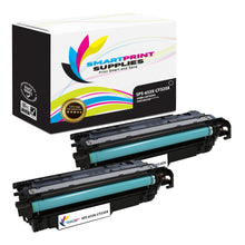 2 Pack HP 653A/653X Black Toner Cartridge Replacement By Smart Print Supplies