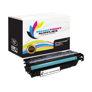 1 Pack HP 653A/653X Black High Yield Toner Cartridge Replacement By Smart Print Supplies