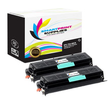 2 Pack HP 75A 92275A Replacement Black MICR Toner Cartridge by Smart Print Supplies