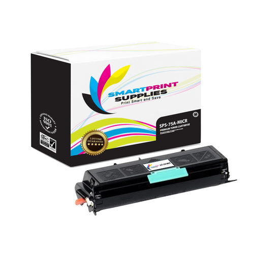 HP 75A 92275A Replacement Black MICR Toner Cartridge by Smart Print Supplies