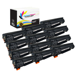 12 Pack HP 78A CE278A Replacement Black Toner Cartridge by Smart Print Supplies