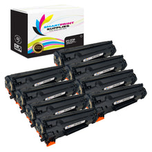 8 Pack HP 78A CE278A Replacement Black Toner Cartridge by Smart Print Supplies
