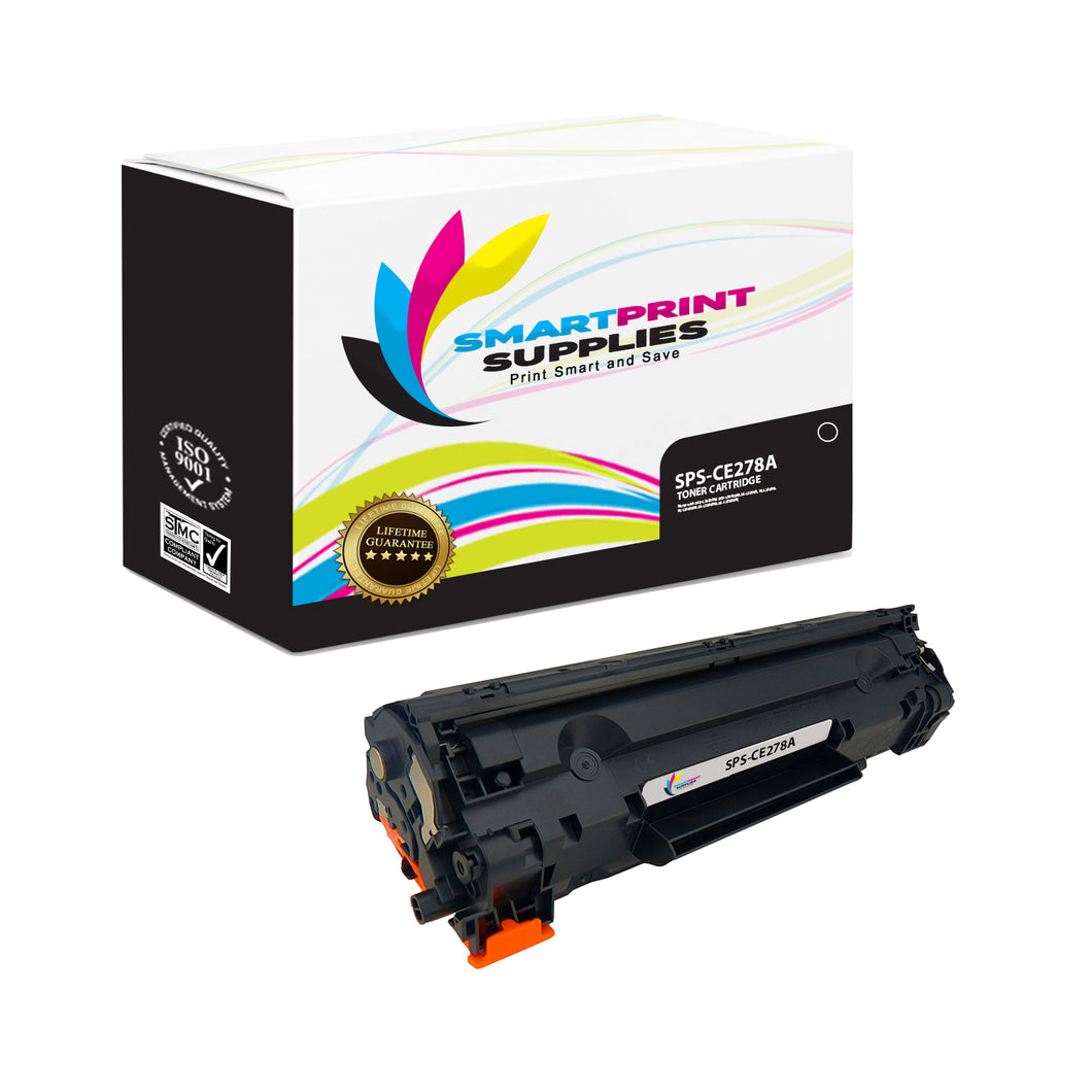 HP 78A CE278A Replacement Black Toner Cartridge by Smart Print Supplies