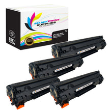 4 Pack HP 78A CE278A Replacement Black MICR Toner Cartridge by Smart Print Supplies