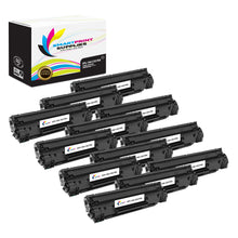 12 Pack HP 78X Black Jumbo Yield Toner Replacement By Smart Print Supplies
