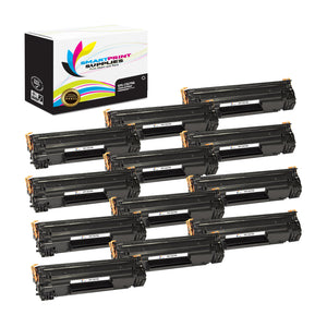 12 Pack HP 79A CF279A Replacement Black Toner Cartridge by Smart Print Supplies