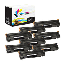 8 Pack HP 79A CF279A Replacement Black Toner Cartridge by Smart Print Supplies