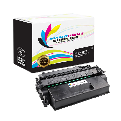 HP 80A CF280A Replacement Black MICR Toner Cartridge by Smart Print Supplies