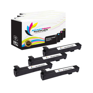 4 Pack HP 823A/824A 4 Colors Toner Cartridge Replacement By Smart Print Supplies