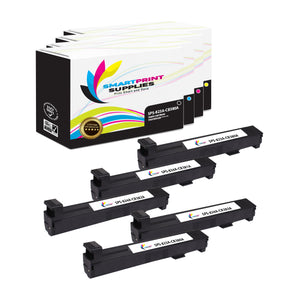 5 Pack HP 823A/824A 4 Colors Toner Cartridge Replacement By Smart Print Supplies