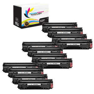 12 Pack HP 83A CF283A Replacement Black Toner Cartridge by Smart Print Supplies