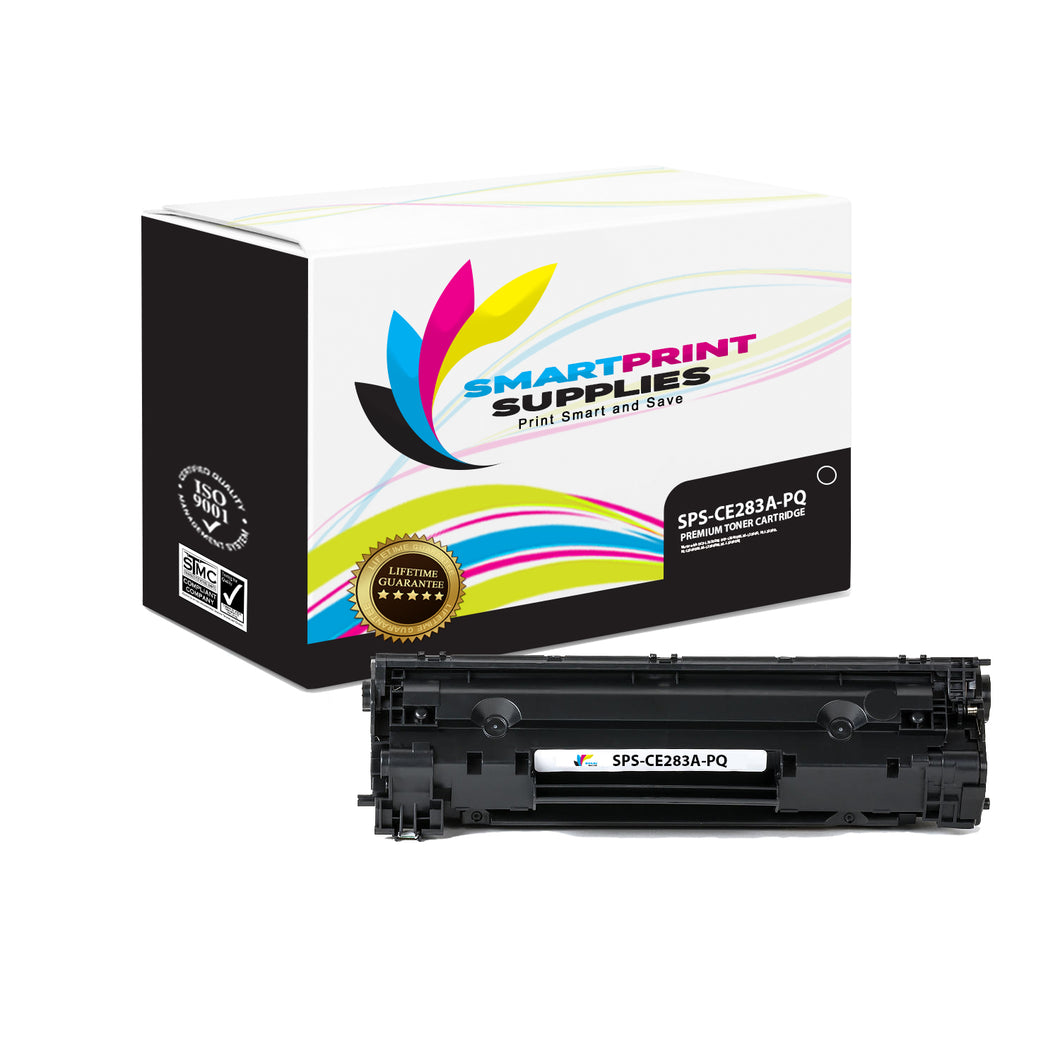 HP 83A CF283A Premium Replacement Black Toner Cartridge by Smart Print Supplies