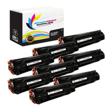 8 Pack HP 85A CE285A Replacement Black Toner Cartridge by Smart Print Supplies