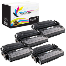 4 Pack HP 87A CF287A Replacement Black MICR Toner Cartridge by Smart Print Supplies