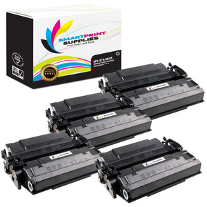 4 Pack HP 87A CF287A MICR Replacement Black Toner Cartridge by Smart Print Supplies /9000 Pages