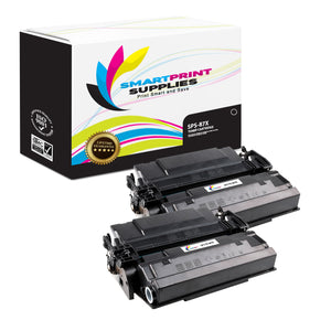 HP 87X Replacement Black Toner Cartridge by Smart Print Supplies /18000 Pages