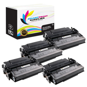 4 Pack HP 87X CF287X MICR Replacement Black Toner Cartridge by Smart Print Supplies /18000 Pages