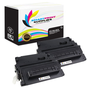 2 Pack HP 90A CE390A MICR Replacement Black Toner Cartridge by Smart Print Supplies /10000 Pages