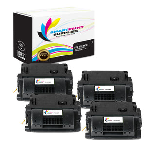 4 Pack HP 90X  Replacement MICR Toner Cartridge by Smart Print Supplies