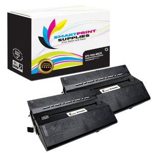 2 Pack HP 95A 92295A MICR Replacement Black Toner Cartridge by Smart Print Supplies /4000 Pages