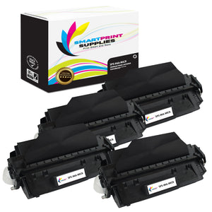 4 Pack HP 96A C4096A MICR Replacement Black Toner Cartridge by Smart Print Supplies /5000 Pages