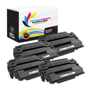 4 Pack HP 98A 92298A Replacement Black Toner Cartridge by Smart Print Supplies