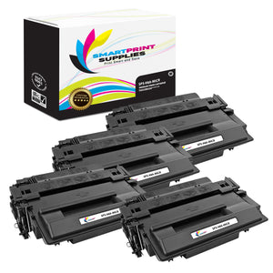 4 Pack HP 98A 92298A MICR Replacement Black Toner Cartridge by Smart Print Supplies /6800 Pages