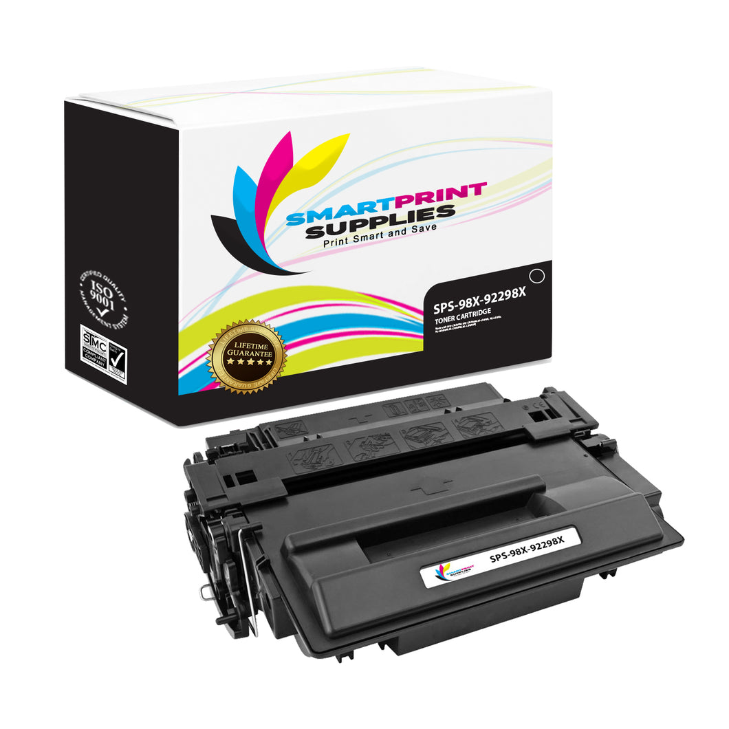 HP 98X 92298X Replacement Black High Yield Toner Cartridge by Smart Print Supplies