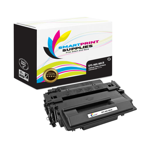 HP 98X 92298X Replacement Black High Yield MICR Toner Cartridge by Smart Print Supplies