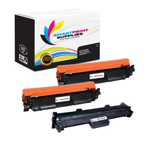 3 Pack HP 30A - 32A Replacement Black Combo Pack by Smart Print Supplies