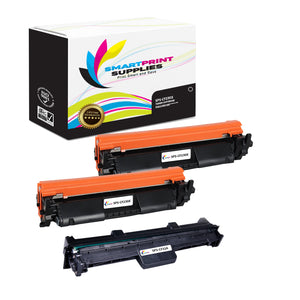 3 Pack HP 30X - 32A Replacement Black Combo Pack by Smart Print Supplies
