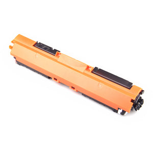 2 Pack HP 126A CE310A Replacement Black Toner Cartridge by Smart Print Supplies