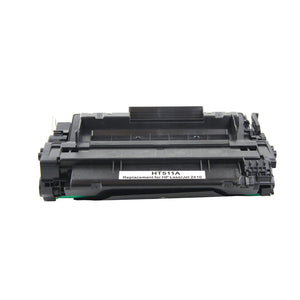 2 Pack HP 51A Q7551A Premium Replacement Black Toner Cartridge by Smart Print Supplies