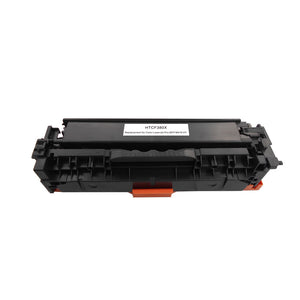 4 Pack HP 312A/312X Premium Replacement (CMYK) High Yield Toner Cartridge by Smart Print Supplies