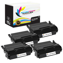 4 Pack IBM IBM1832 MICR Replacement Black Toner Cartridge by Smart Print Supplies /25000 Pages