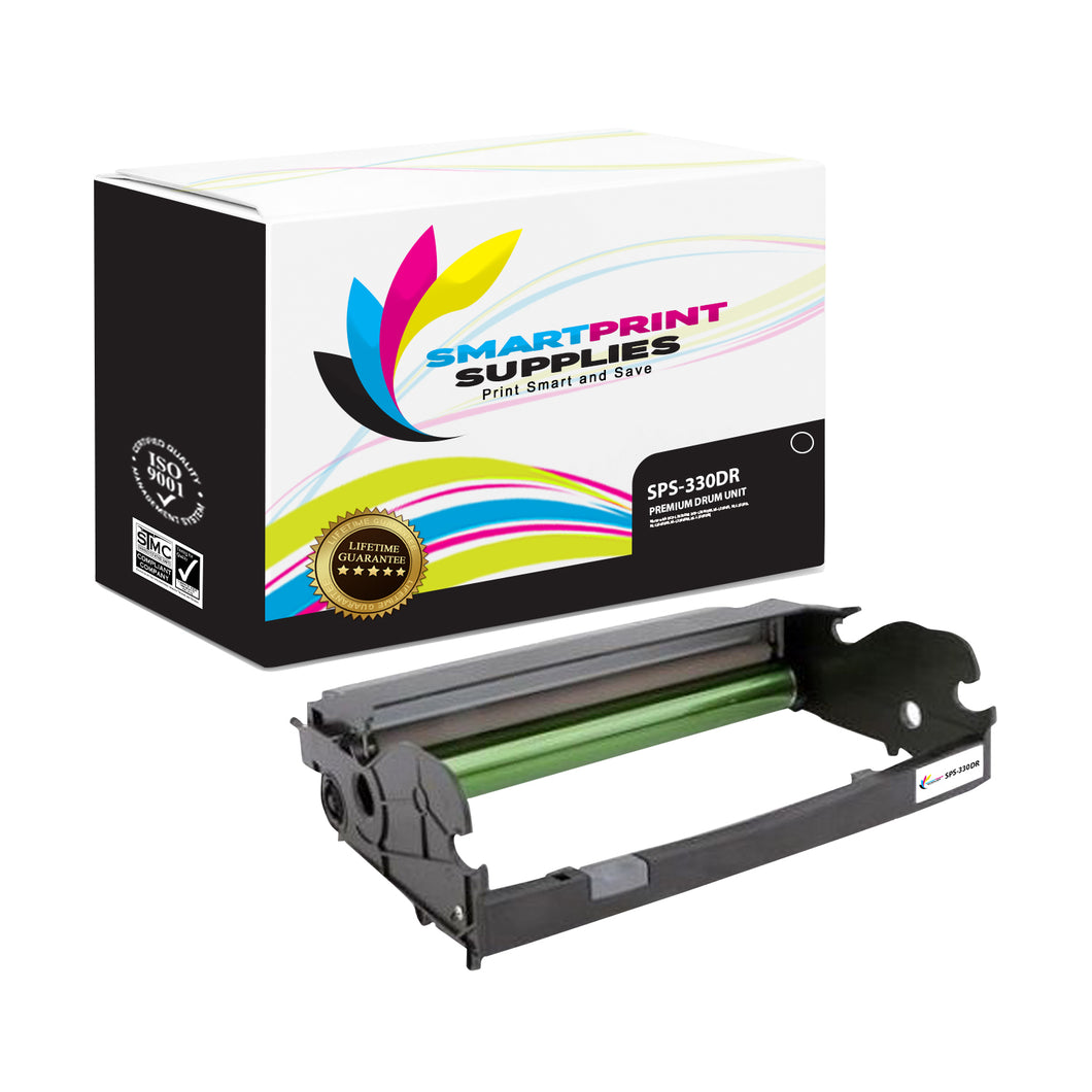 Lexmark 330DR Replacement Black Toner Cartridge by Smart Print Supplies /30000 Pages
