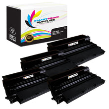 4 Pack Lexmark 4059 Replacement Black Toner Cartridge by Smart Print Supplies /17600 Pages