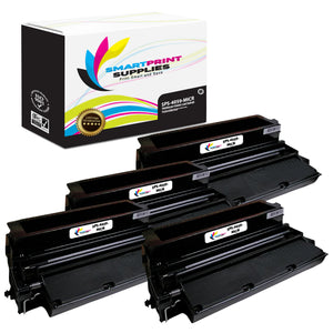 4 Pack Lexmark 4059 MICR Replacement Black Toner Cartridge by Smart Print Supplies /17600 Pages